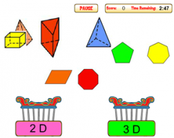 Geometric Figures Game