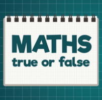 Maths True Or False